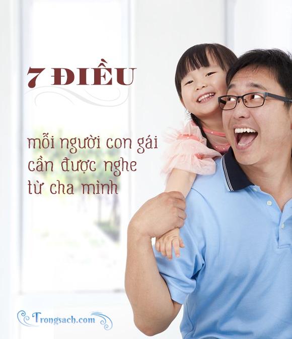 7 điều mỗi người con gái cần được nghe từ cha mình