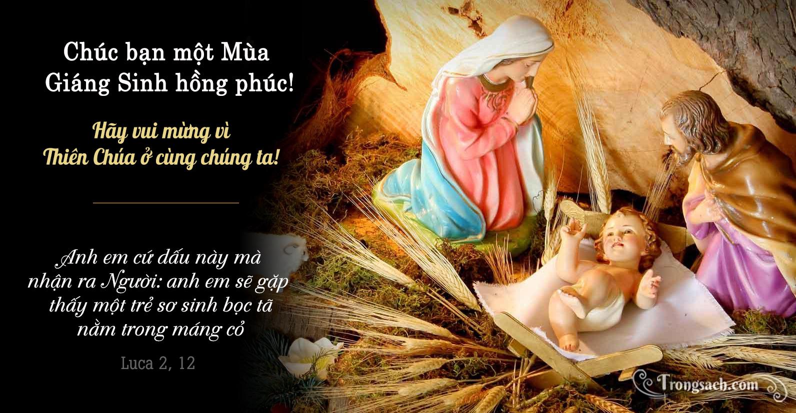 Hãy vui mừng vì Thiên Chúa ở cùng chúng ta